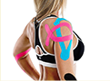 Kinesiologic taping is an athletic taping procedure that uses elastic tape to support muscles and tendons